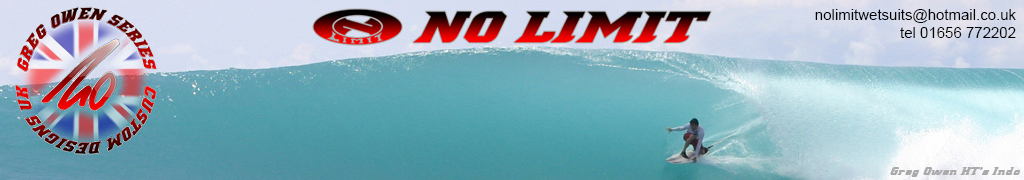 NO LIMIT WETSUITS NAVIGATION