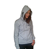 womens hoody grey